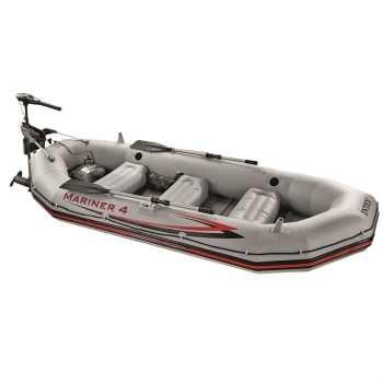 قایق بادی اینتکس مدل Mariner 4 به همراه موتور | Intex Mariner 4 Boat With Engine
