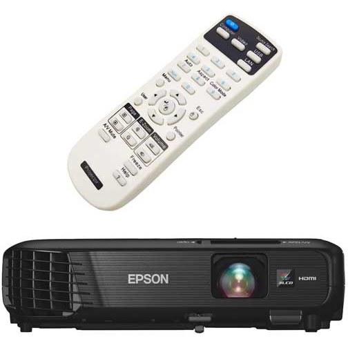 تصویر کنترل ویدئو پروژکتور اپسون مدل Epson PowerLite 1264