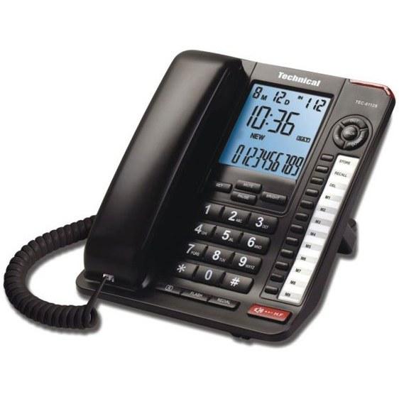 main images تلفن تکنیکال مدل TEC-6112s