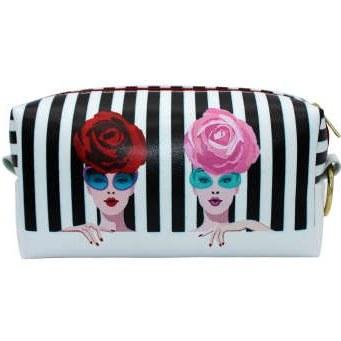 کیف لوازم آرایش زنانه طرح گل کد IDM58 |