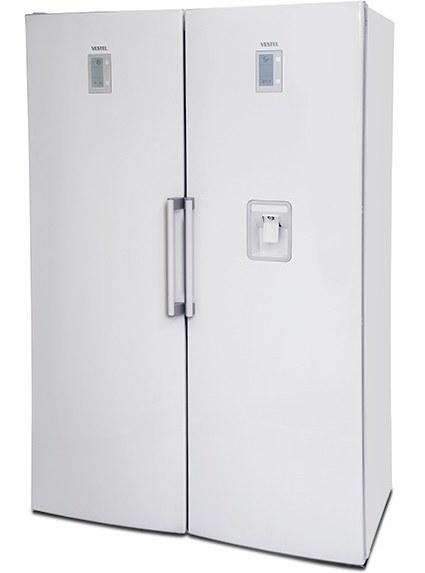 یخچال وستل دو قلو 34 فوت _395 TWIN Refrigerator Vestel
