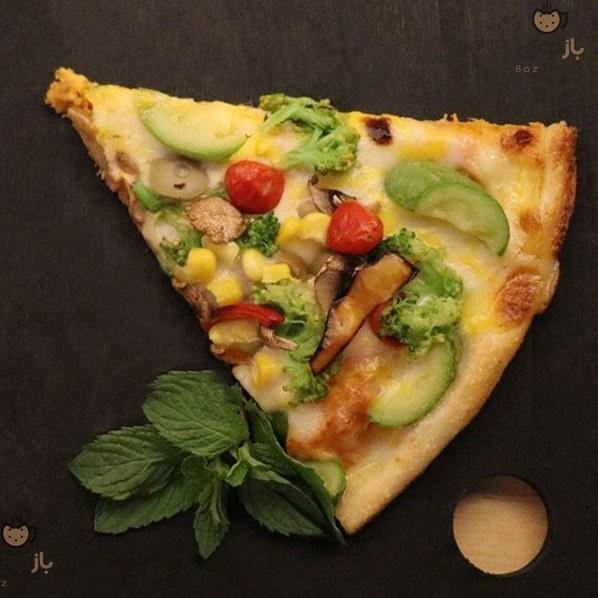 پیتزا سبزیجات |