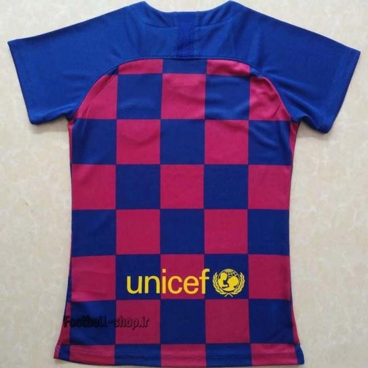 """تصویر پیراهن اول اریجینال گرید یک""""زنانه""""بارسلونا 2020-Nike"""