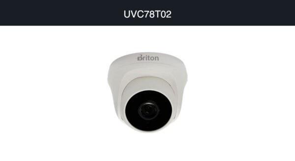 تصویر دوربین مداربسته ۲ مگاپیکسل AHD برایتون مدل UVC78T02
