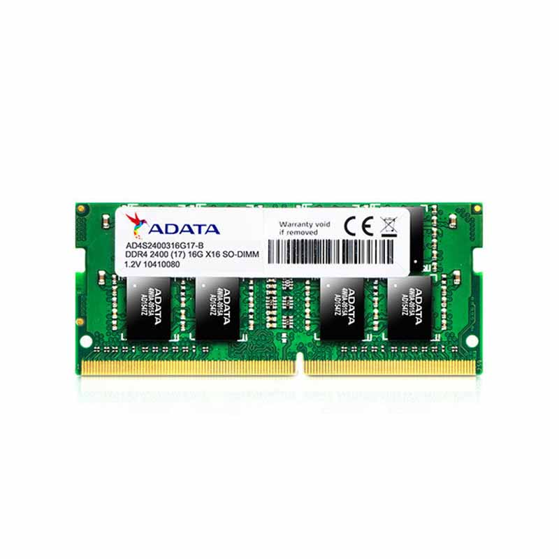 حافظهی رم لپ تاپی ADATA مدل Premier DDR4 2400 با ظرفیت ۱۶ گیگابایت |