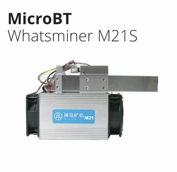 تصویر دستگاه واتس ماینر M21s
