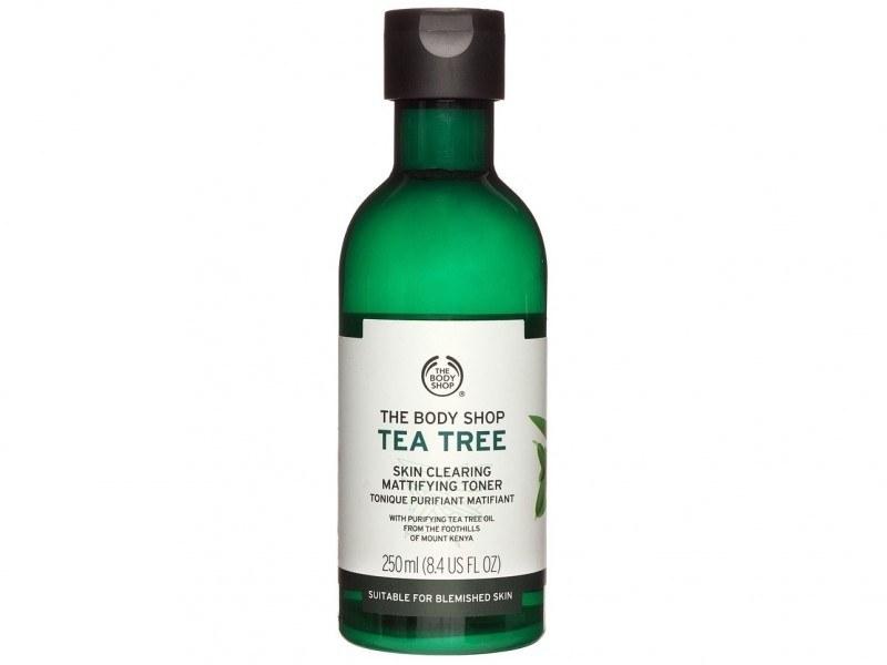 تصویر تونر پاک کننده بادی شاپ سری چای سبز حجم 250 میلی لیتر Tea Tree Toner Body Shop