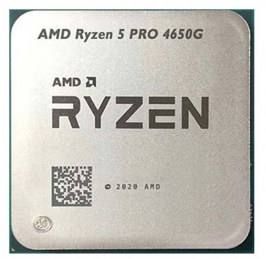 تصویر پردازنده CPU ای ام دی بدون باکس مدل Ryzen 5 PRO 4650G فرکانس 3.7 گیگاهرتز