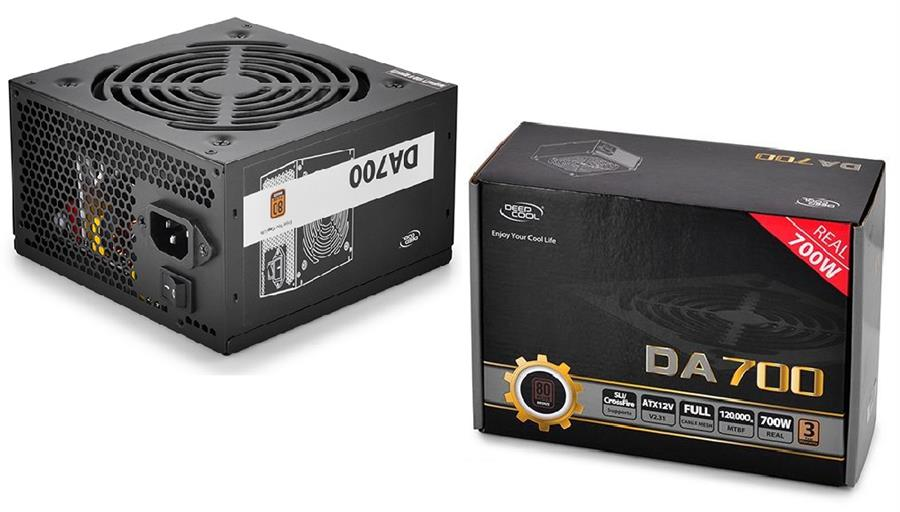 image پاور دیپ کول مدل دی ای 700 پاور دیپ کول DA700 80 PLUS Bronze Power Supply