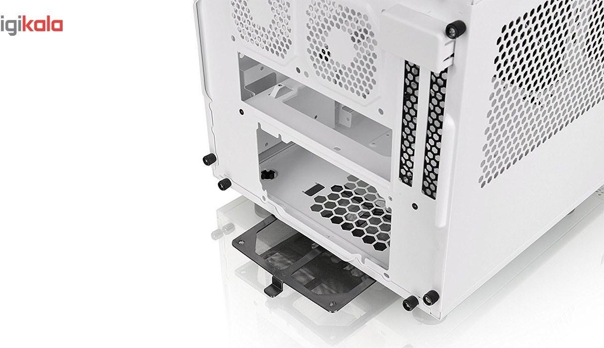 img کیس ترمالتیک مدل Core V۱ Snow Edition Thermaltake Core V1 Snow Edition Mini ITX Case