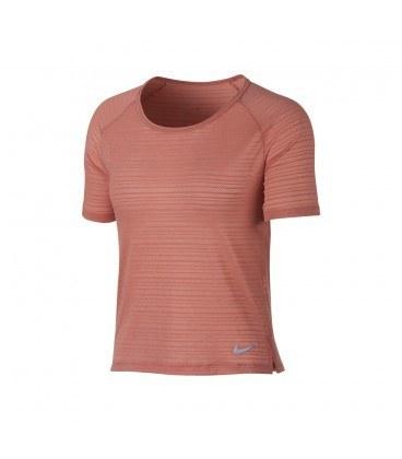 تیشرت زنانه نایک صورتی Nike Miler 891172-010