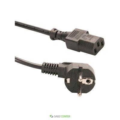 تصویر کابل برق سه پين منبع تغذيه کامپيوتر تسکو مدل TC 85 طول 2 متر Tsco TC 85 3-Pin Power Cable 2M
