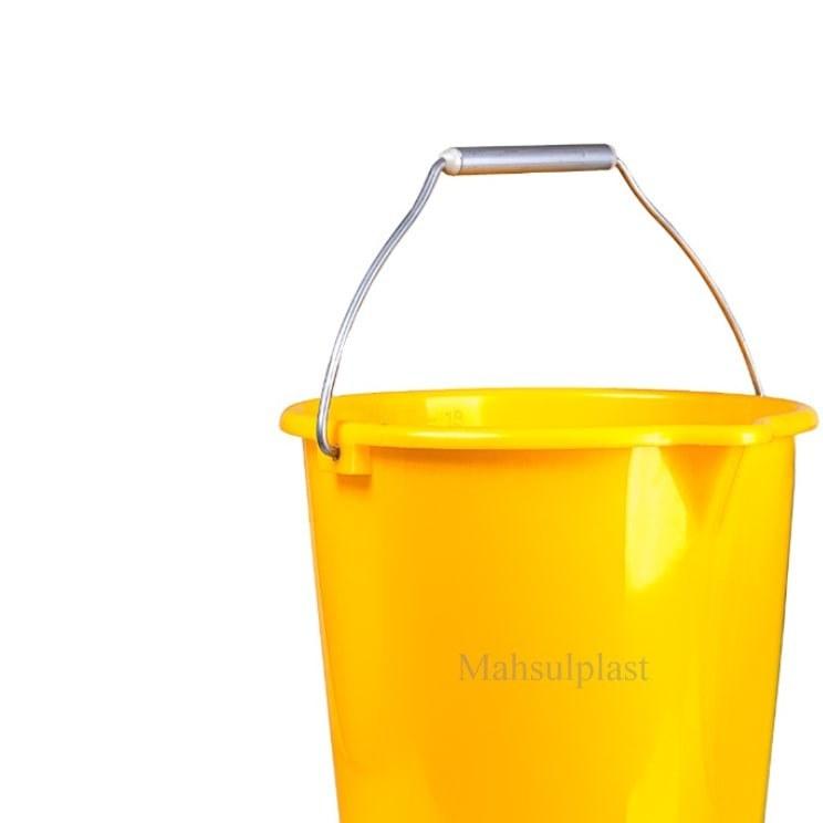 تصویر سطل 20 لیتری مدرج با دسته فلزی