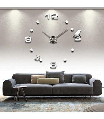 تصویر ساعت دیواری طرح پرنده