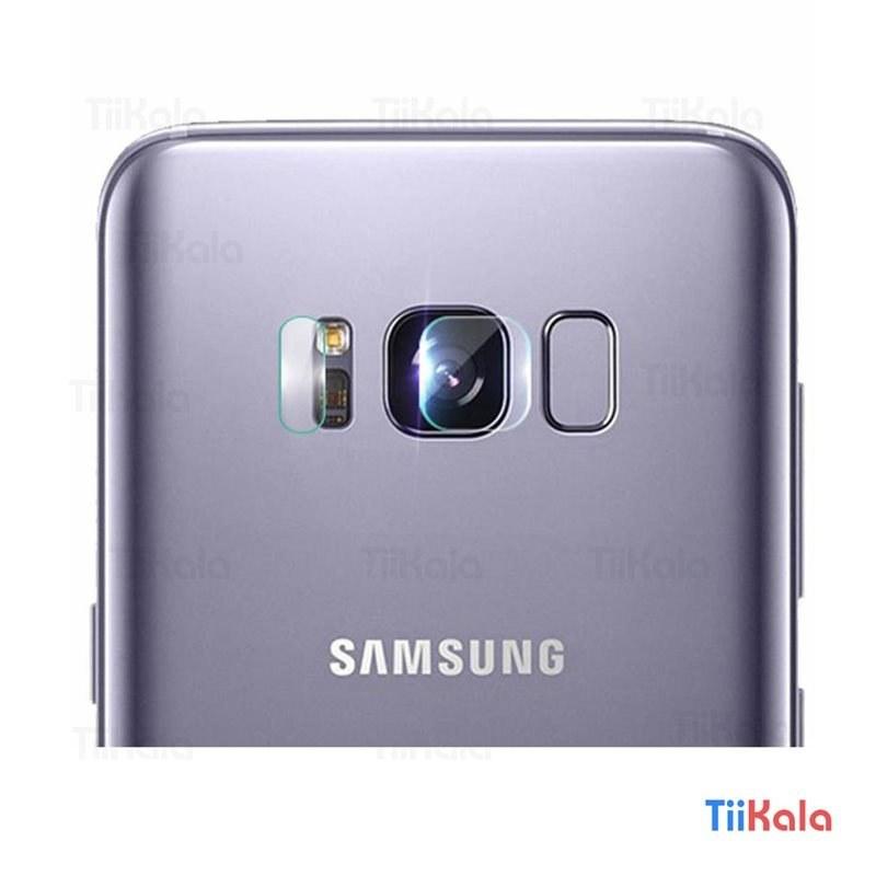 تصویر گلس لنز دوربین موبایل سامسونگ S8 PLUS