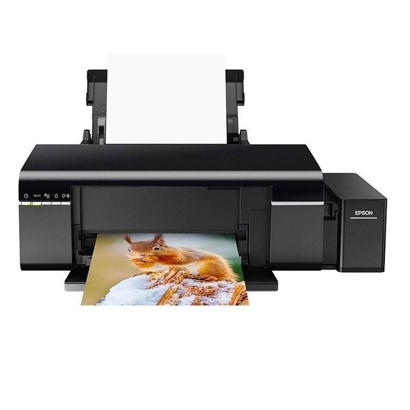 تصویر پرینتر جوهرافشان اپسون مدل L805 ا Epson L805 Inkjet Printer Epson L805 Inkjet Printer