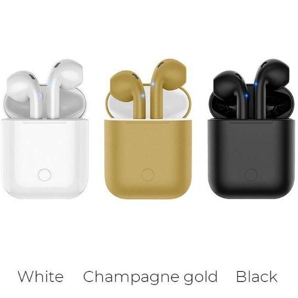 عکس هندزفری بلوتوث دو گوش هوکو ES28 Original series apple wireless headset ES28 Original series apple wireless headset هندزفری-بلوتوث-دو-گوش-هوکو-es28-original-series-apple-wireless-headset
