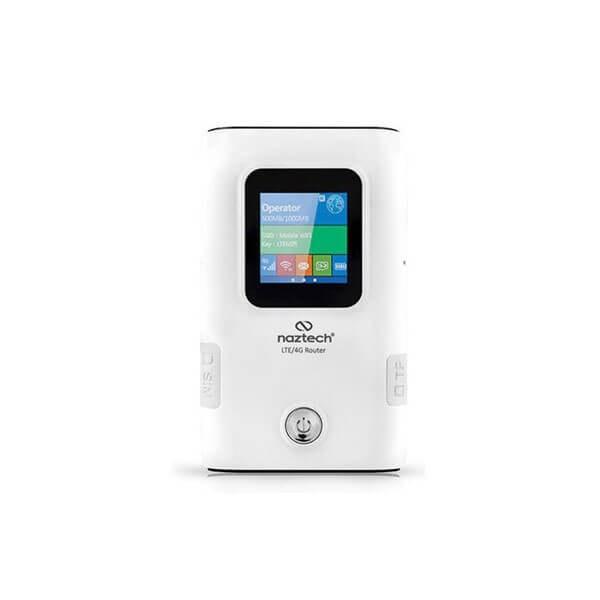 تصویر مودم 4G همراه و پاوربانک NazTech N99B
