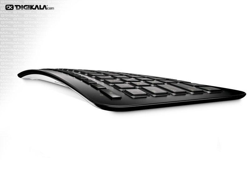 تصویر کیبورد بی سیم آرک مایکروسافت کیبورد مایکروسافت Wireless-Arc-Keyboard