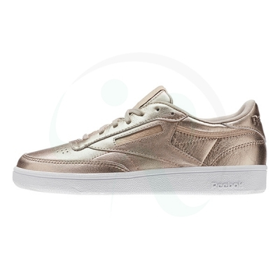کتانی رانینگ زنانه ریبوک Reebok Club C 85 Melted Metal Pearl BS7899