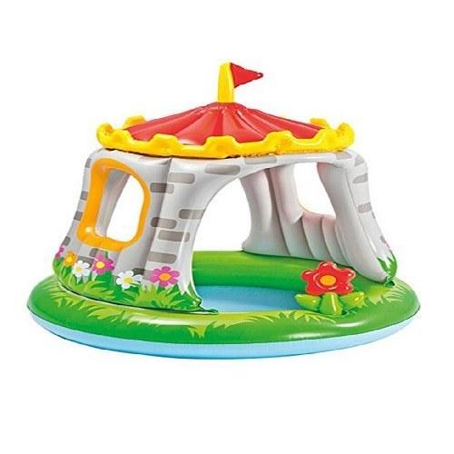استخر بادی کودک اینتکس مدل قلعه  