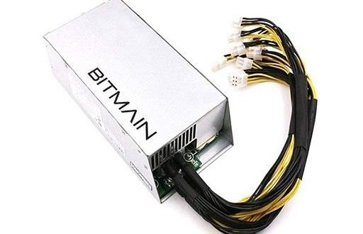 تصویر پاور دستگاه ماینر بیت مین Antminer APW7 1800W