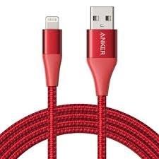 کابل تبدیل USB به لایتنینگ انکر مدل A8453 PowerLine II Plus طول ۱٫۸ متر