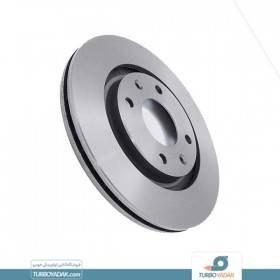 تصویر دیسک چرخ جلو کوپر تولید ایران مناسب برای پژو 206 تیپ 5