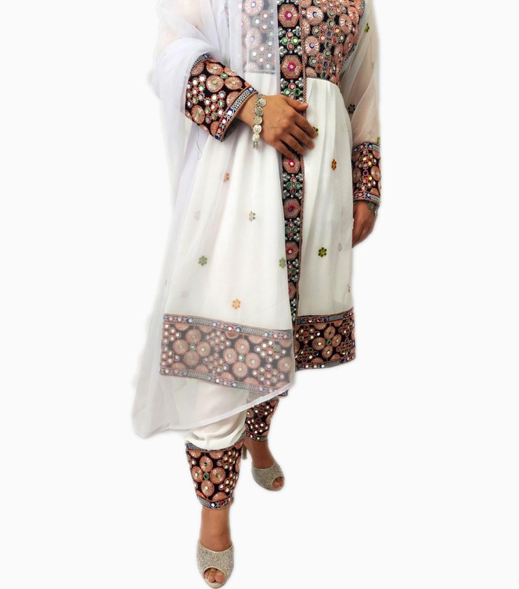 تصویر لباس گند افغانی کد KH-01043