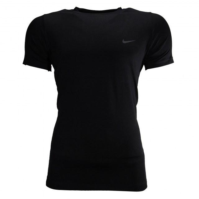 تصویر تی شرت ورزشی مردانه یقه گرد نایک پارچه سوزنی کد AT109