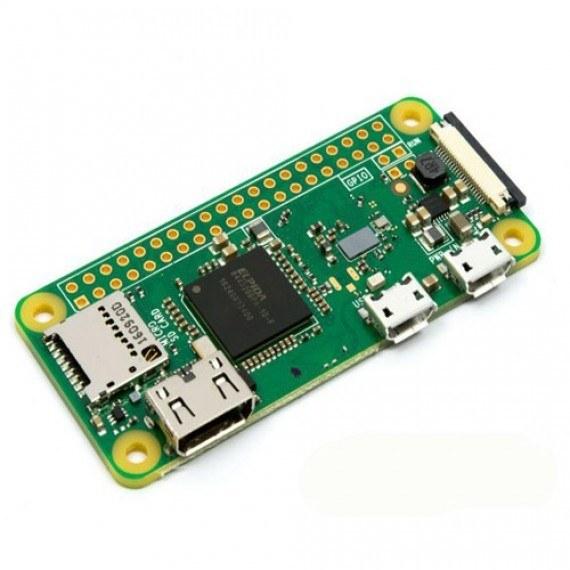 تصویر برد رزبری پای زیرو Raspberry Pi Zero مدل W