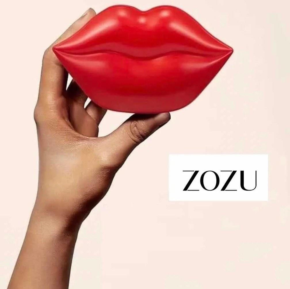 تصویر ماسک لب زو زو  zozu