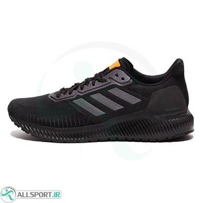 کتانی رانینگ مردانه آدیداس Adidas Solar Ride Core Black Grey