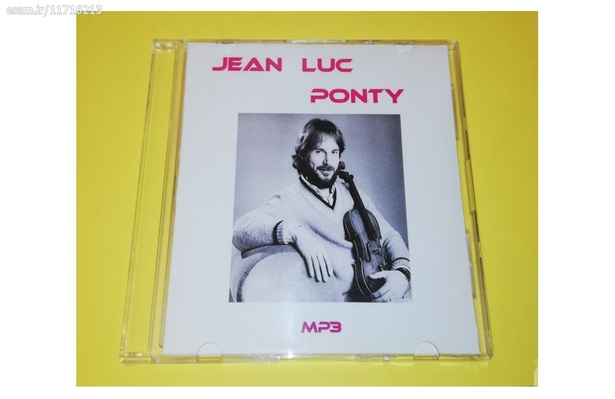 یک حلقه CD MP3 قابدار | 5 آلبوم از  Jean Luc Ponty