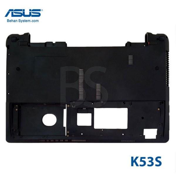 تصویر قاب کف لپ تاپ ASUS مدل K53