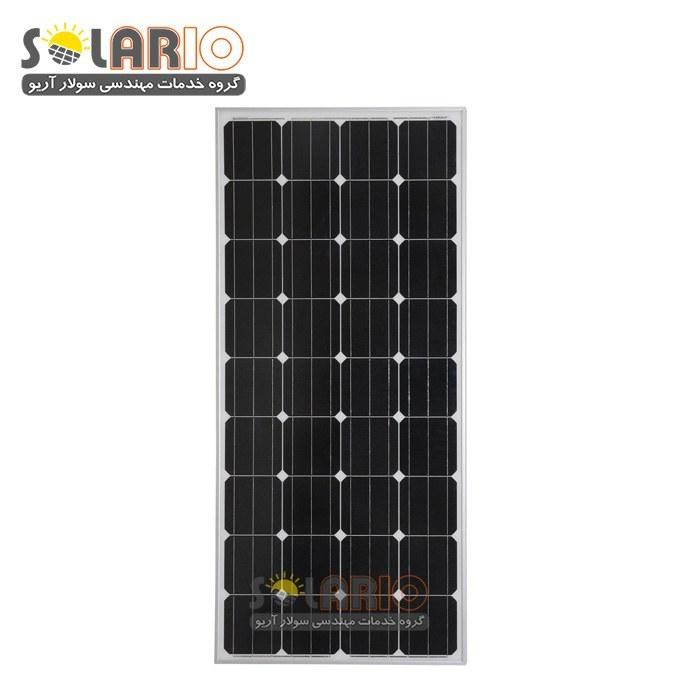 تصویر پنل خورشیدی 100وات مونو کریستال Restar Solar مدل RTM100M