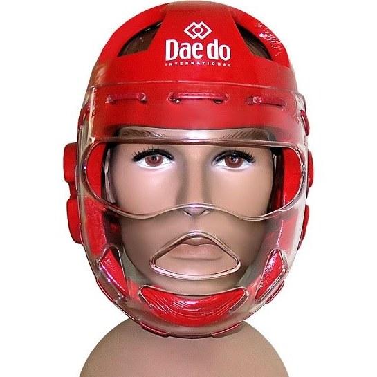 کلاه تکواندو تزریقی دیدو نقابدار | Daedo Taekwondo Helmet Injectable  with Mask