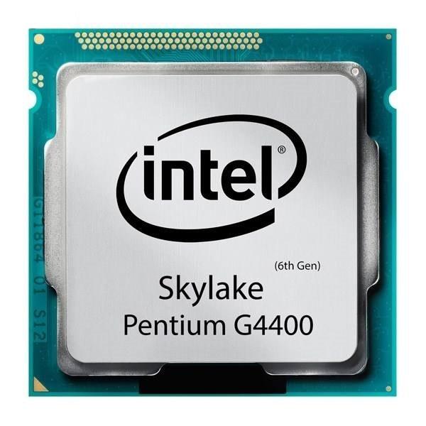 تصویر پردازنده مرکزی اینتل سری SkyLake مدل Pentium G4400 Tray بدون جعبه Intel SkyLake Pentium G4400 Tray CPU