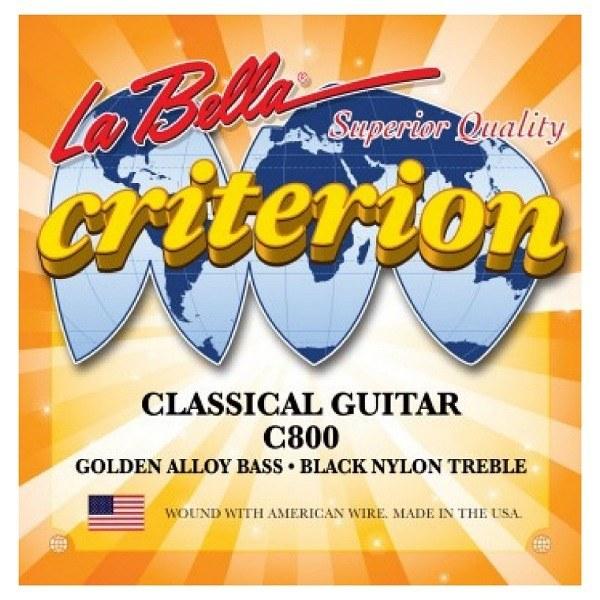 تصویر سیم گیتار کلاسیک La Bella-C800