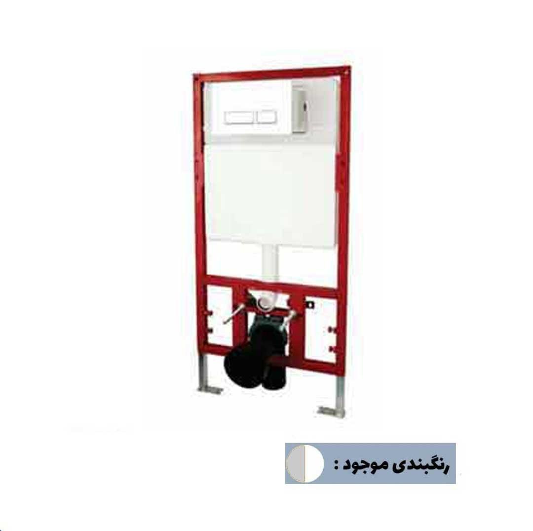 تصویر فلاش تانک توکار راسان مدل وال هنگ ا flush tank rasan model val hang flush tank rasan model val hang