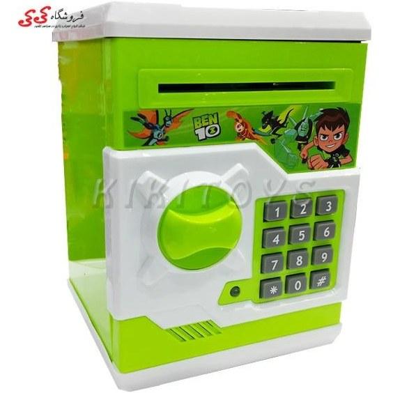 تصویر گاوصندوق رمز دار اسباب بازی بن تن-MONEY SAFE BOX BEN10