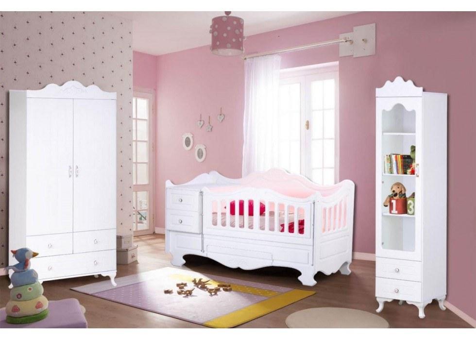 سرویس تخت و کمد نوزاد نوجوان مدل پارادایس |