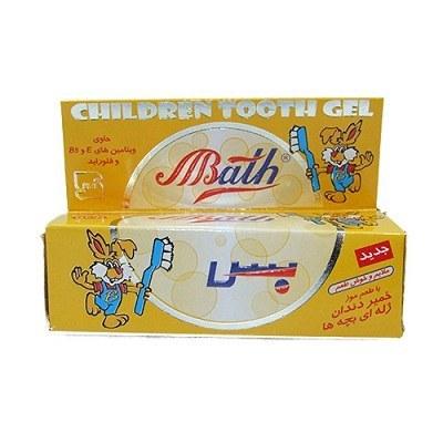 خمیر دندان ژله ای موزی کودک بس 80 گرم