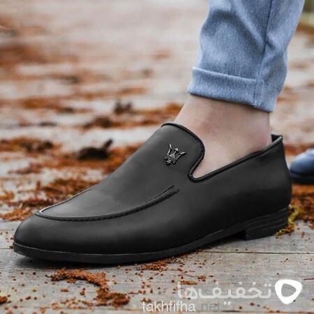 تصویر کفش کالج مردانه طرح Maserati