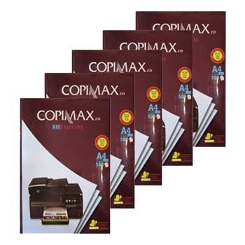 کاغذ کپی مکس سایز A۴ بسته ۲۵۰۰ عددی | Copimax ۸۰gr Paper Size A۴ Pack of ۵۰۰