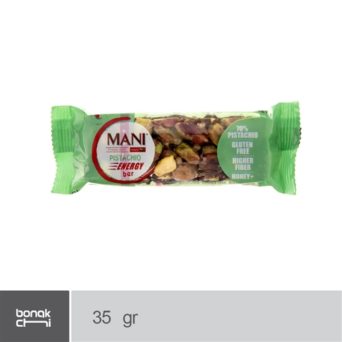 تصویر نات بار پسته شکلاتی مانی - 35 گرم Mani Chocolate pistachio knot - 35 g