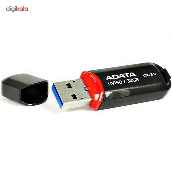 تصویر فلش مموری ای دیتا UV150 با ظرفیت 32 گیگابایت Flash Memory ADATA UV150 32GB