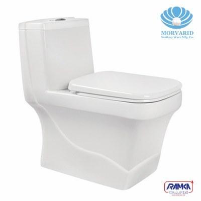 توالت فرنگی مروارید مدل کرون |