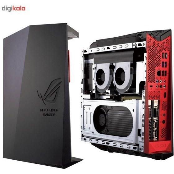 تصویر کامپيوتر دسکتاپ مخصوص بازي ايسوس مدل ROG G20AJ BH008S ASUS ROG G20AJ BH008S Gaming Desktop Computer
