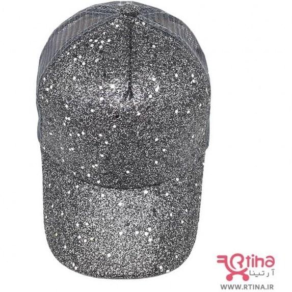 تصویر کلاه پشت توری نقابدار زنانه/ دخترانه مدل اکلیلی